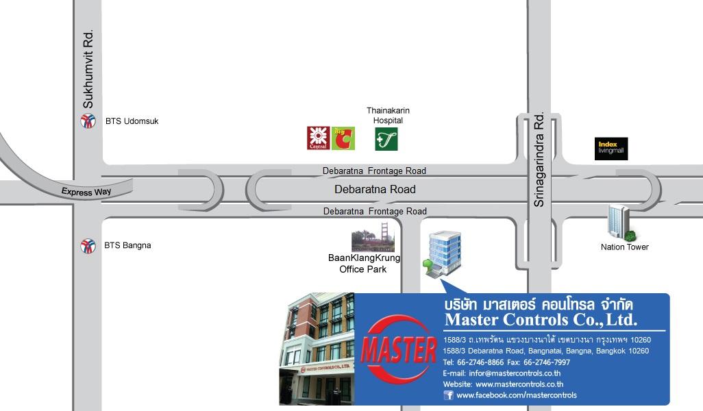 Location Map – Master Controls Co , Ltd